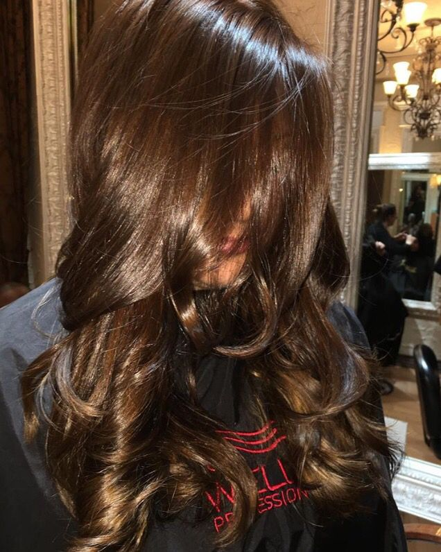Swell 25 Best Ideas About Chocolate Brown Hair On Pinterest Dark Hairstyle Inspiration Daily Dogsangcom