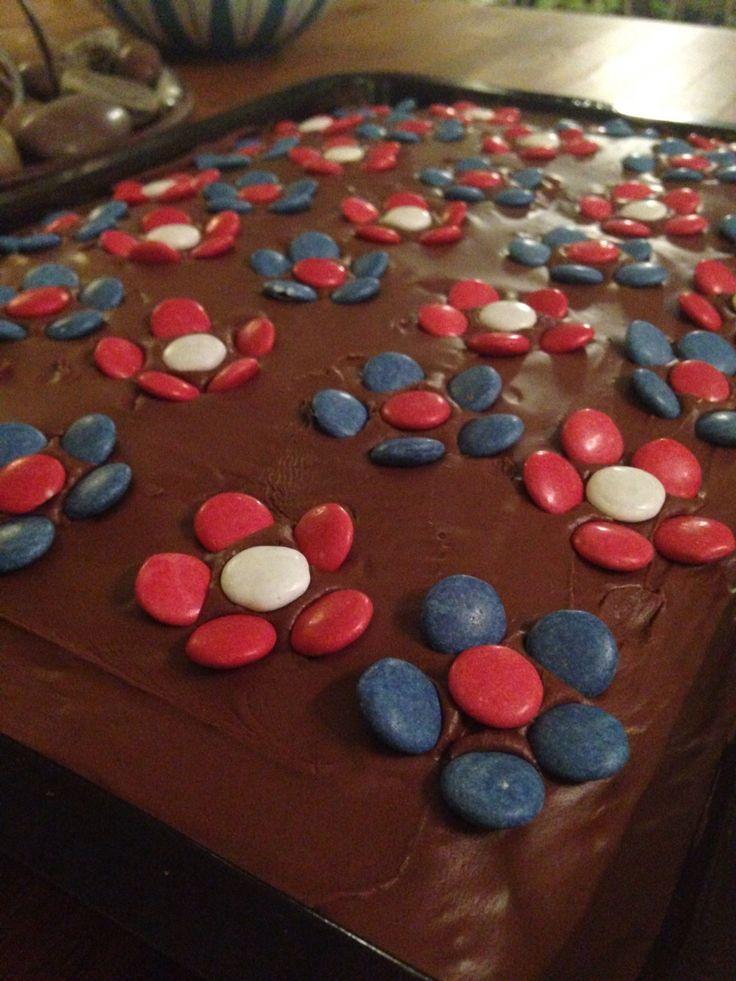 17.mai sjokoladekake