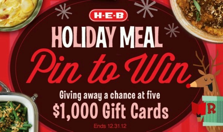 Not an HEB super close to us, but I'd be willing to drive to one if I win a $1000 gift card from them! HEB is a great grocery store. Their Dulce de Leche if cream.is the VERY best!