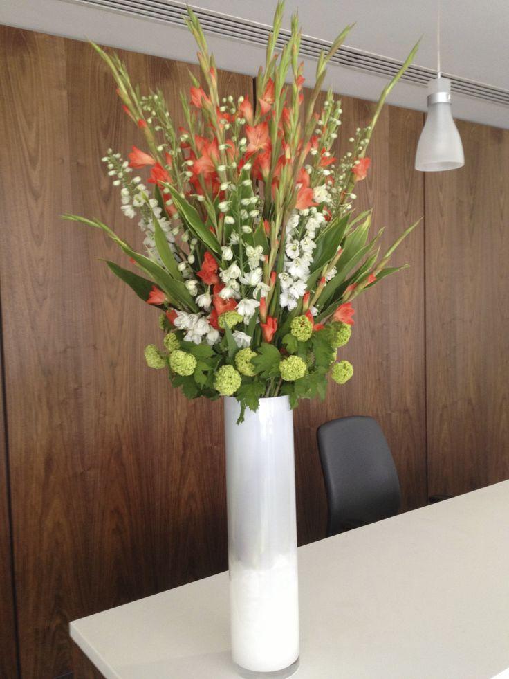 office floral arrangements. event flowers office corporate floral arrangements e