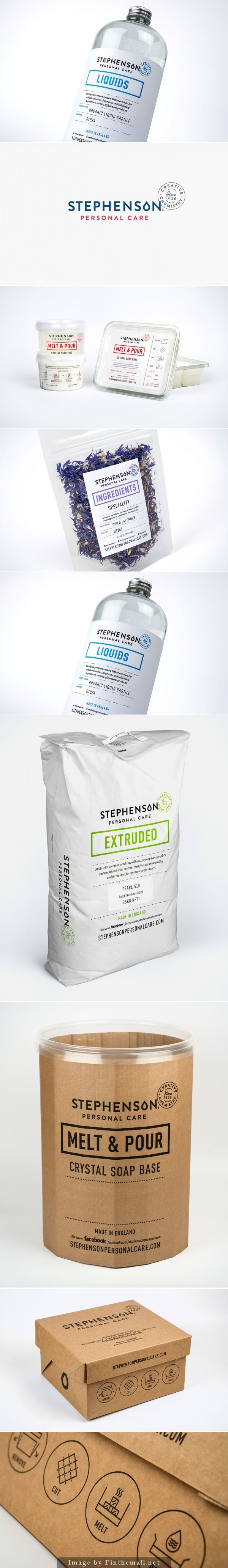 Minimalistic Branding Project: Stephenson Personal Care by Robot Food