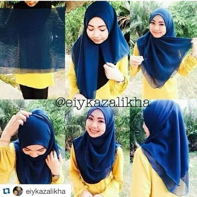 Square bawal shawl tutorial