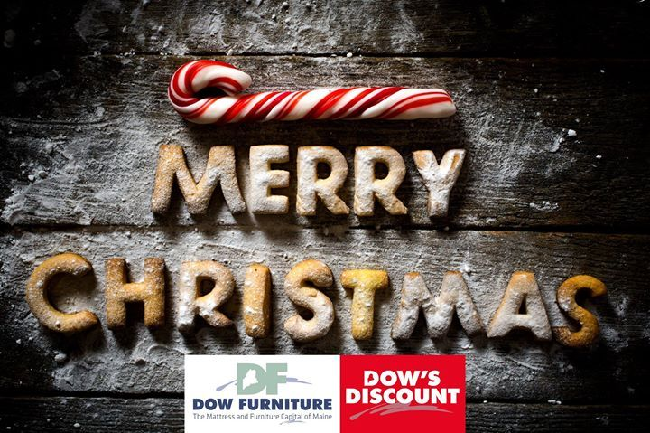 Dow Furniture will be closing at 12:30pm today for Christmas Eve.  We will be closed Sunday Monday and Tuesday.  All of us at #DowFurniture wish you a Merry Christmas!