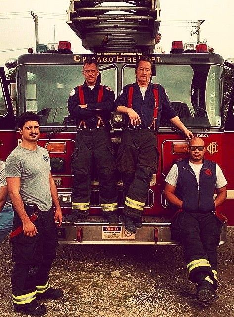 Chicago Fire:  The boys of Firehouse 51 on a break | Shared by LION