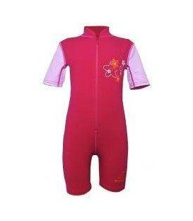 Costum de baie copii 'roto.red', UPF 80