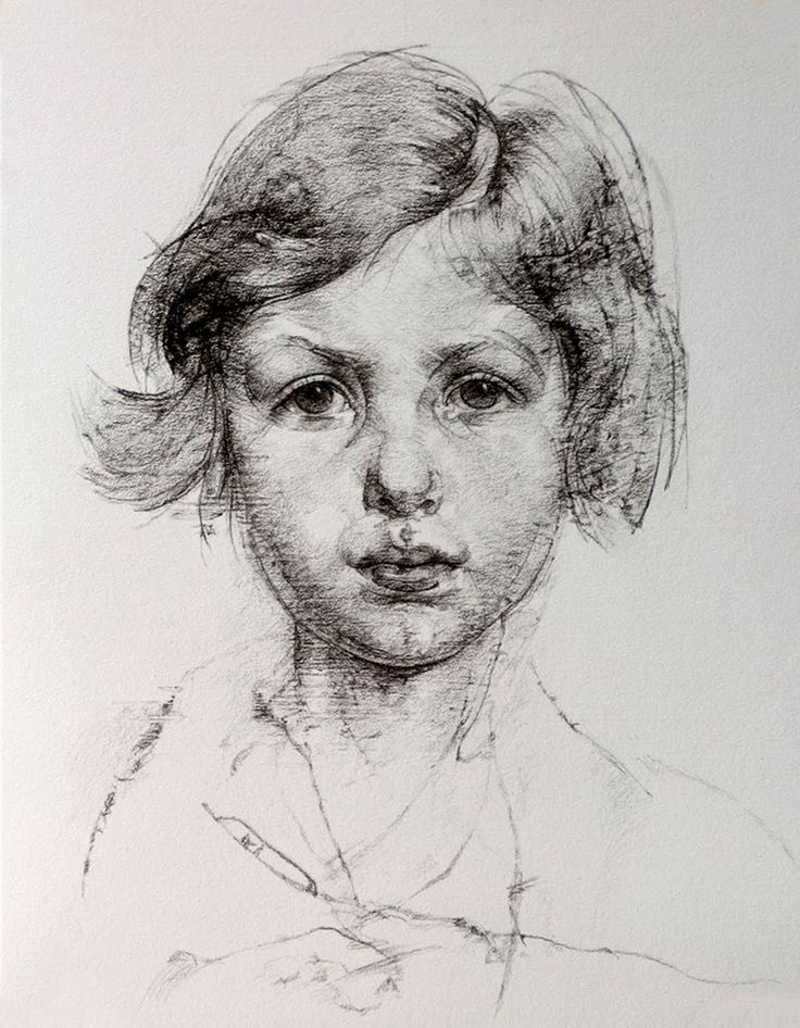 Открытка, картинки для художников карандашом