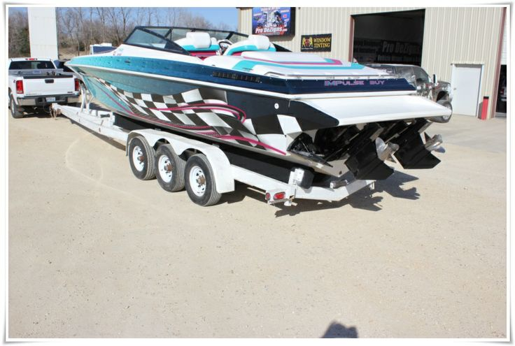 Boat wrap by pro dezigns lake of the ozarks boat wraps