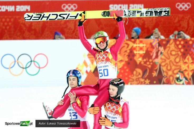 Kamil Stoch victory in Sochi 2014 Winter Olympics ski jumping big hill contest | Zwycięstwo Kamila Stocha w konkursie skoków narciarskich Zimowych Igrzysk Olimpijskich Sochi 2014 na dużej skoczni