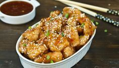 Ψητό κοτόπουλο με υπέροχη Κινέζικη σάλτσα μελιού