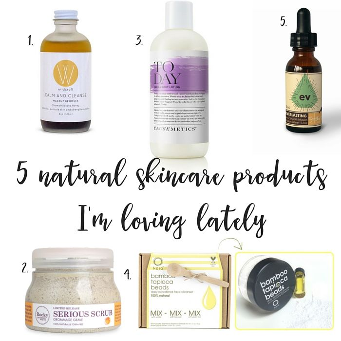 Five natural skincare products from Canadian green beauty companies that Green Moms Collective is loving lately.