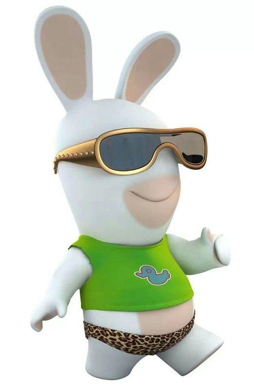 Les 25 meilleures id es de la cat gorie lapin cretin sur pinterest lapin cretin dessin jeux - Lapin cretin image ...