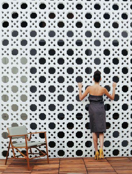 Cobogós fashion: cores, modelos e novos usos do elemento vazado - Casa.com.br