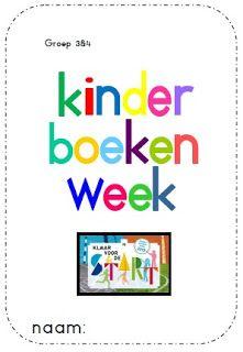 Juf Shanna: Werkboekje Kinderboekenweek '13 - Groep 3 & 4