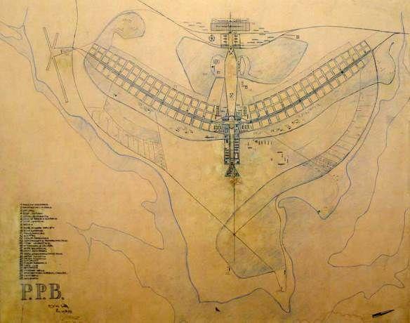 Plano Piloto de Brasília – Lúcio Costa