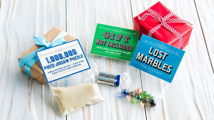 Download our printable labels to create hilarious novelty gifts perfect for Secret Santa or as stocking fillers.