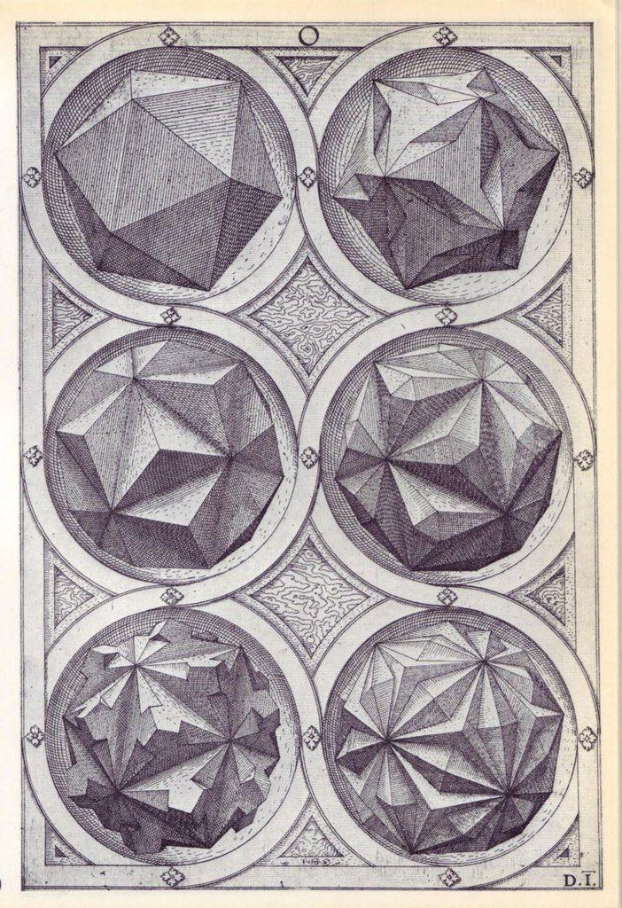 Графика немецкого ювелира 16 века Венцеля Ямницера 2