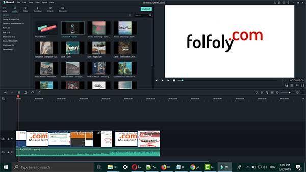فولفولي تحميل برنامج تحرير الفيديو فيلمورا Filmora للكمبيوتر Free Download Pandora Screenshot Screenshots
