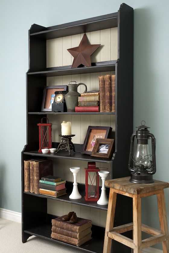 Painted Ikea Leksvik Bookcase- Who knew? — Simply Inspired Design ~ Intentional Design § Intentional Living