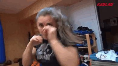 Aleksandra Albu=badass