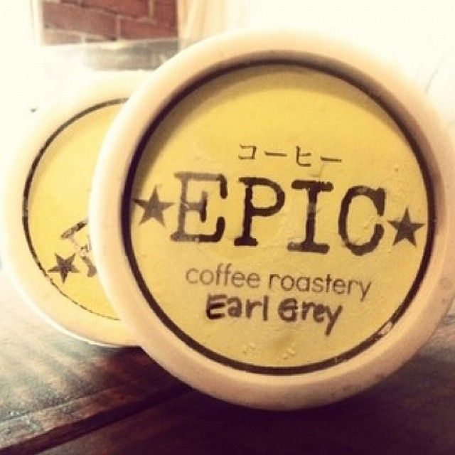 What's for #dessert tonight? Earl Grey ice cream from #EpicCoffeeRoastery . Find them in #Kapitolyo , #Pasig and check their other ice cream flavors like matcha, barako and salted caramel. #icecream #philippines #manila #epic #earlgrey #earlgreytea #foodtelling