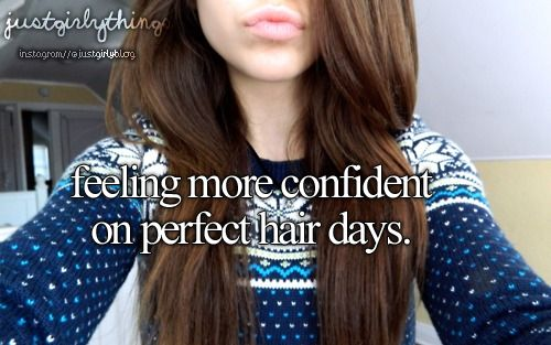 Feeling More Confident On Perfect Hair Days. -Just Girly Things <3