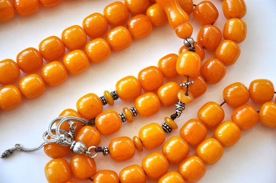 Misbaha 99 Bead Rosary Ottoman Turkish Handmade 99 by Tesbihci, $79.99