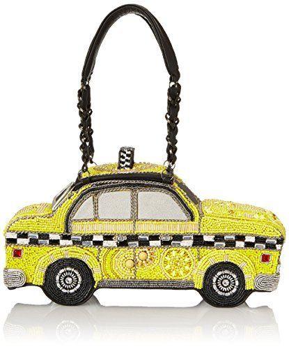 Mary Frances Taxi Clutch Top Handle Bag