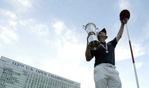 Justin Rose accepting US Open win! #golf #justinrose #usopen #pga #majorchampionship