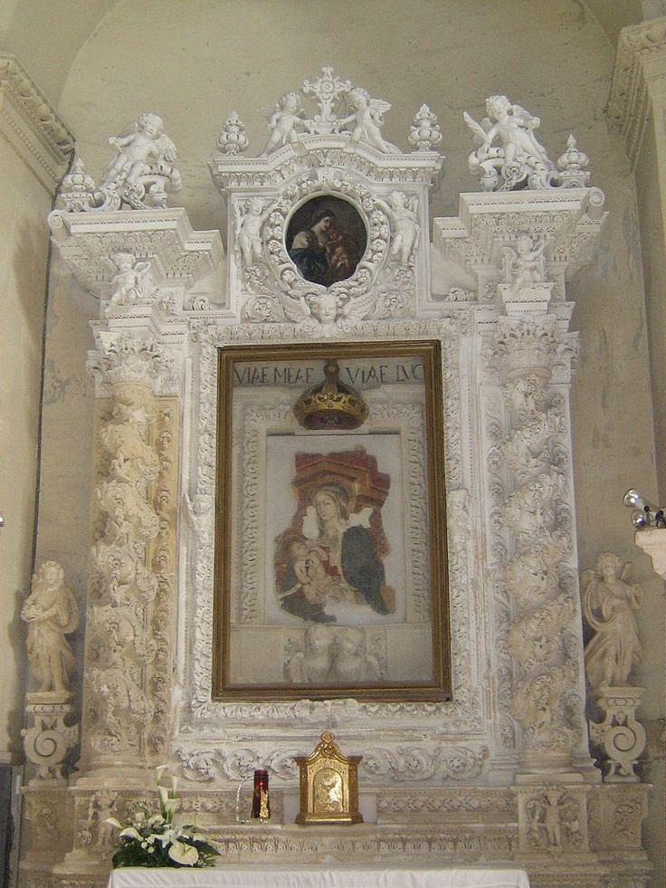 Altare Matteo 1 - Chiesa di San Matteo (Lecce) - Wikipedia