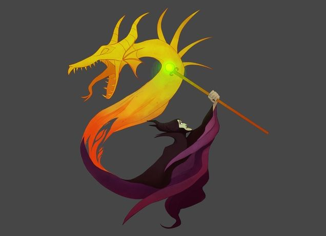 """""""Queen of Dragons"""" -  http://www.threadless.com/product/4113/Queen_of_Dragons/tab,guys/style,shirt#"""