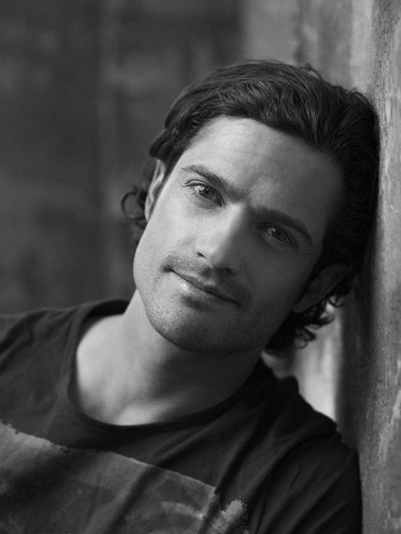 Prince Carl Philip of Sweden...wow, I didn't know there were such good looking royals out there.