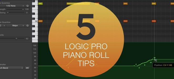 LP10: 5 Essential Logic Pro X Piano Roll Tips