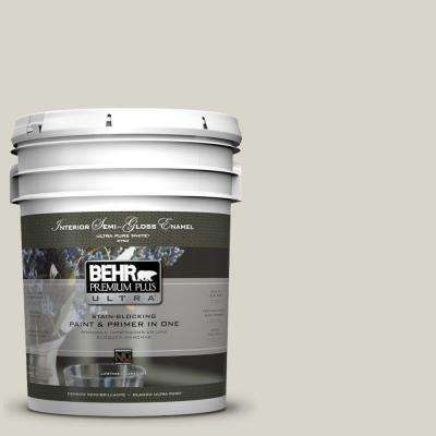 5 Gal Ul200 9 Silver Moon Semi Gloss Enamel Interior Paint Interior Paint Behr Premium Plus Ultra Behr Ultra