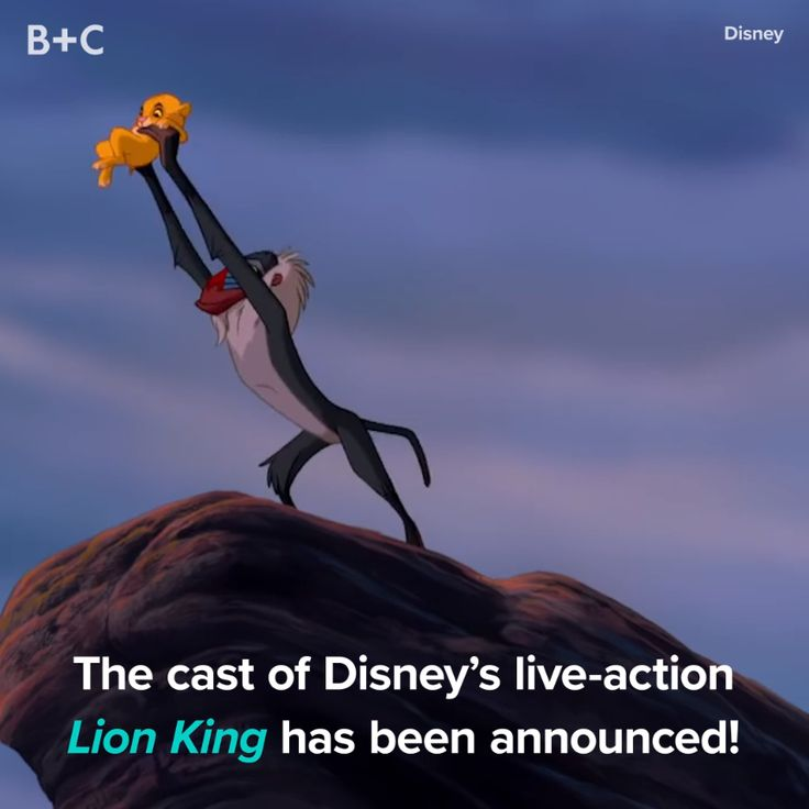 The Lion King cast has been announced!