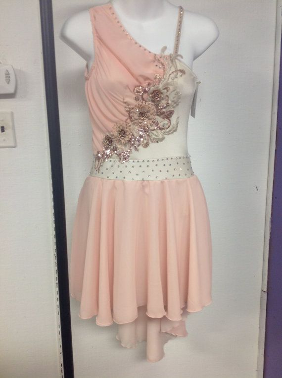 Lyrical Dance Dress  Adult XS by customcostumesbyjess on Etsy