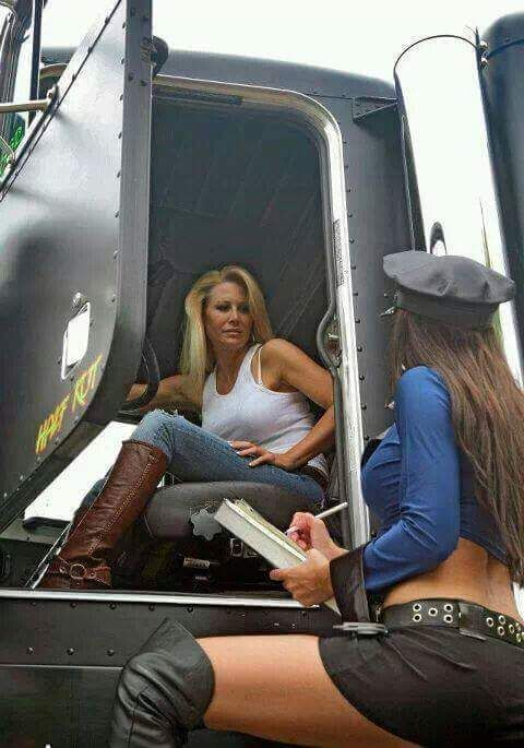 trucker driver sexy girl