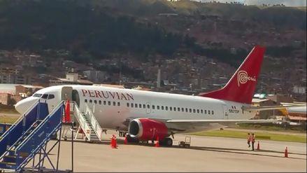 Avión de Peruvian Airlines no pudo despegar de Cusco por la ... - RPP Noticias