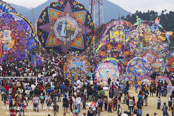 Kite Festival of Sumpongo, Guatemala - Photo Journeys