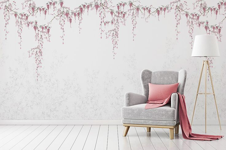 Japanese Garden is new Marina's Guiu wall mural design, inspired mainly illustration and ancient Japanese aesthetic. This is available now in The Wallery.