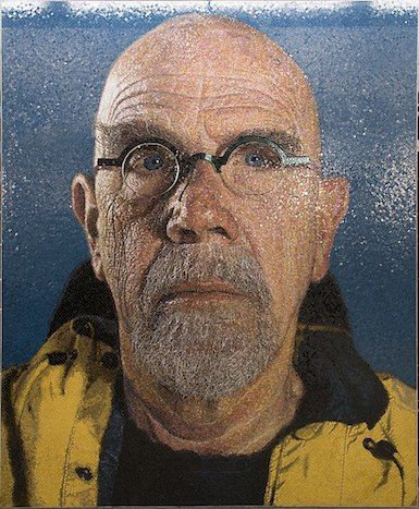 Chuck Close.  Three women claim that the artist made lewd comments related to modeling in his studio.