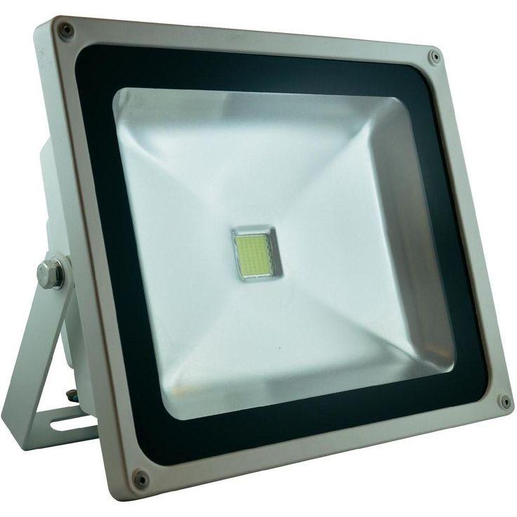 LED-Außenstrahler 50 W Warm-Weiß DioDor DIO-FL50N-W Weiß