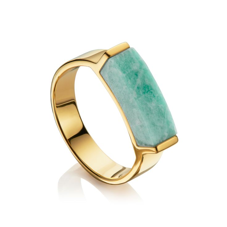 Linear Stone Ring by Monica Vinader in 2020 (With images)