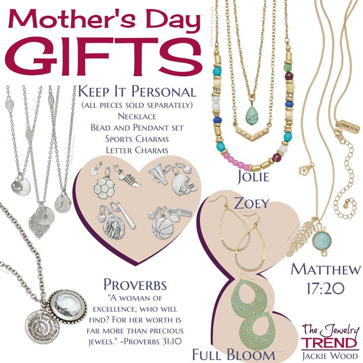SHOP NOW! Get your Mom something really special and meaningful this year from The Jewelry Trend! To order now, contact Jackie at thejewelrytrend@gmail.com or by private message on FB at www.fb.com/thejewelrytrendjackiewood The Jewelry Trend is Premier Designs Jewelry sold by Jackie Wood. Please visit my online catalog at http://jackiekennedywood.mypremierdesigns.com ACCESS CODE: liam