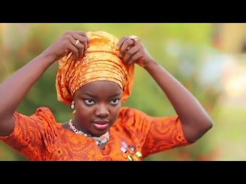 How to tie gele/ 4 easy steps - YouTube