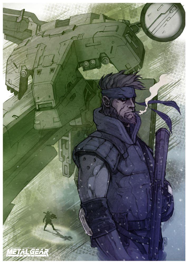 Metal Gear SolidbyNIDO/Blog