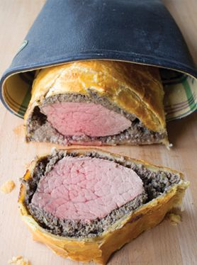 "Alton Brown's Beef Wellington ... now here's a recipe that will make everyone at the table go, ""Wow!"""