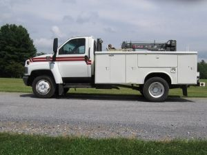 Gmc Truck For Sale >> 2003 GMC 5500 DIESEL SERVICE UTILITY TRUCK | Trucks For Sale | Pinterest | Utility truck