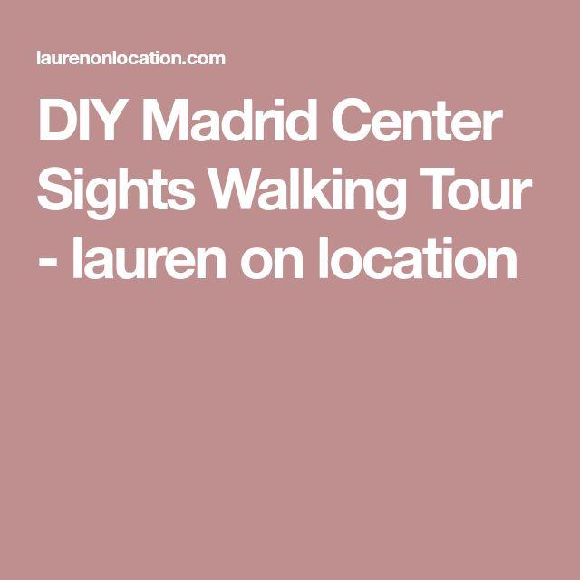 DIY Madrid Center Sights Walking Tour - lauren on location