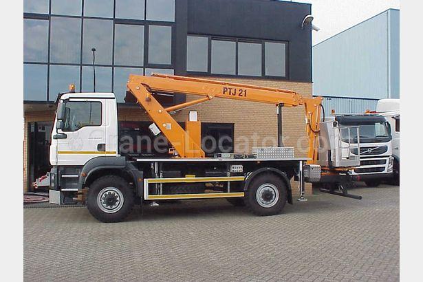 Truck aerial working platform MAN TGM 13.250 for SALE =Crane-Locator=