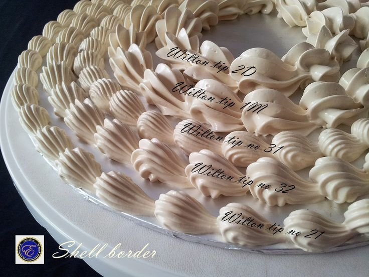Cake Decorating Icing Borders : 430 best images about Wedding cake/cupcakes on Pinterest ...